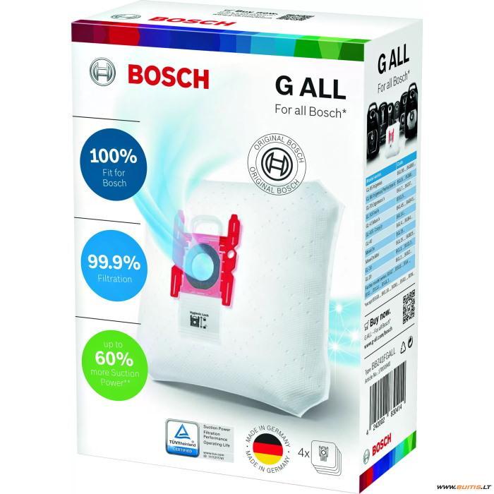 BOSCH BBZ41FGALL (Dulkių siurblio maišeliai)