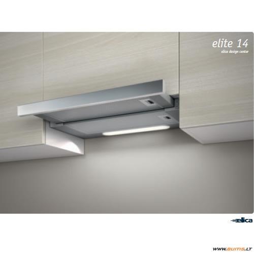 Elica ELITE14 LUX GRIX/A/50 (Gartraukis)