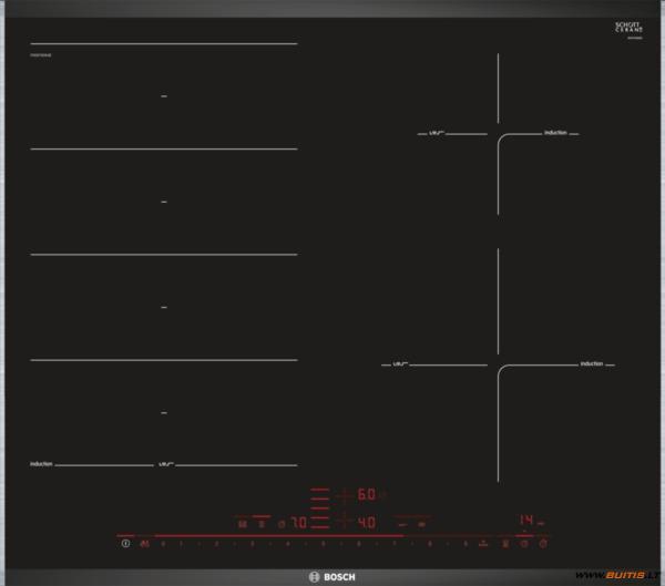 BOSCH PXE675DE4E (Indukcinė kaitlentė)