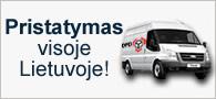 Prekių pristatymas Lietuvoje - Venipak